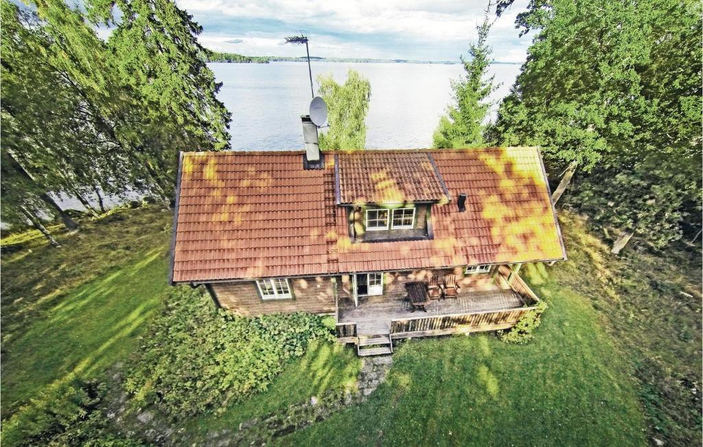 Ett flygfoto av Holiday home Askholmen Österby Kvicksund