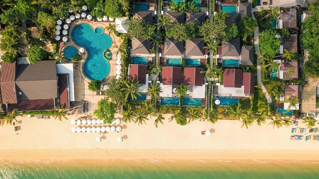 A bird's-eye view of Peace Resort