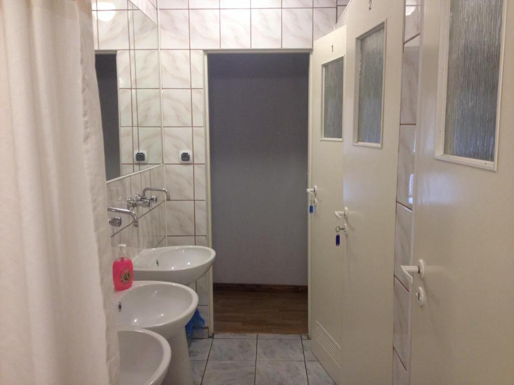 Łazienka w obiekcie Folwark