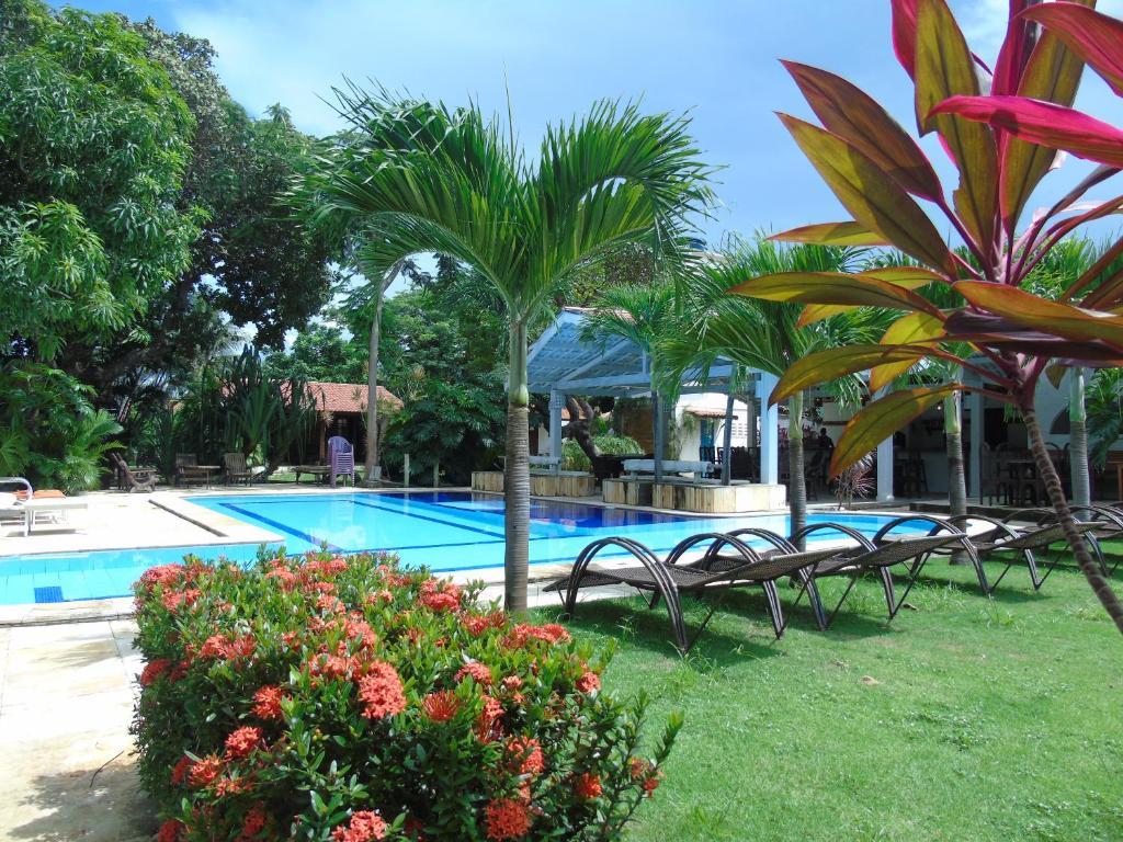 A piscina localizada em Pousada Wind Paracuru ou nos arredores