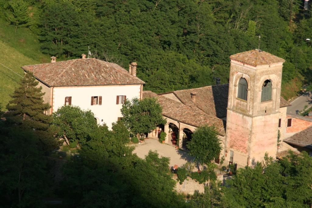 Vista aerea di Antica Locanda La Canonica