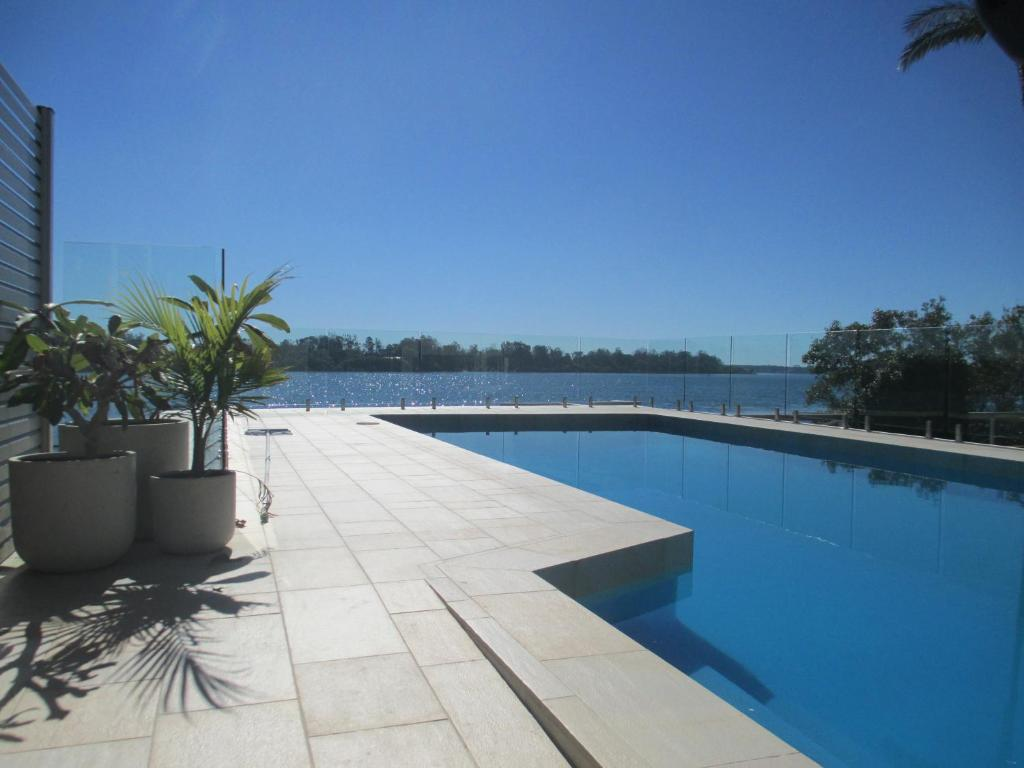 The swimming pool at or near HIBBARD HAVEN