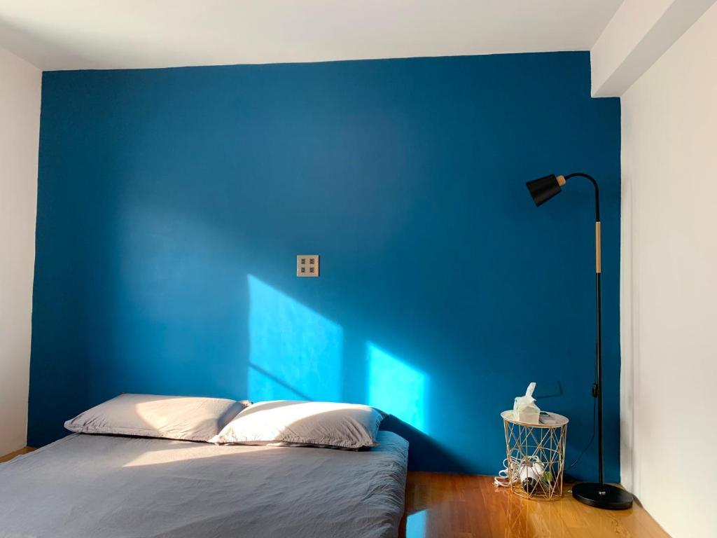 琉浪潛水背包客棧 Drift Diving Hostel房間的床