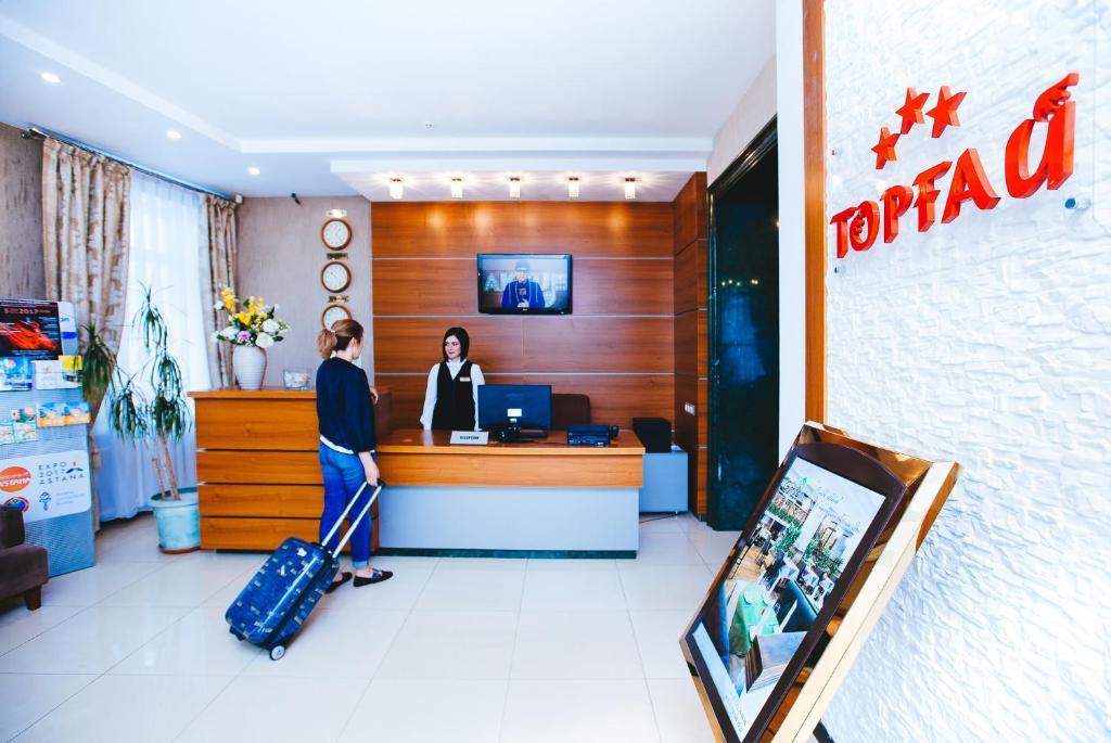 Фитнес-центр и/или тренажеры в Гостиница Торгай