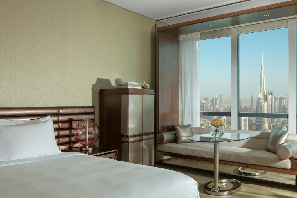 A room at the Paramount Hotel Dubai.