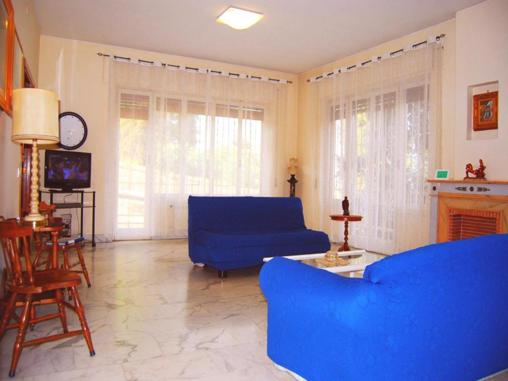 Area soggiorno di Luminous Trastevere Apartment