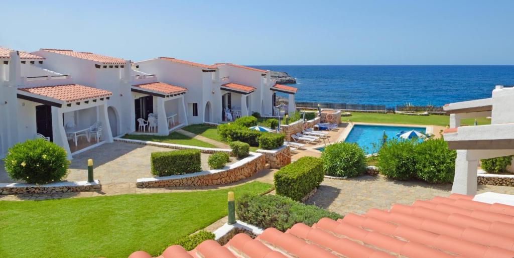 Binibeca Beach Villas a vista de pájaro