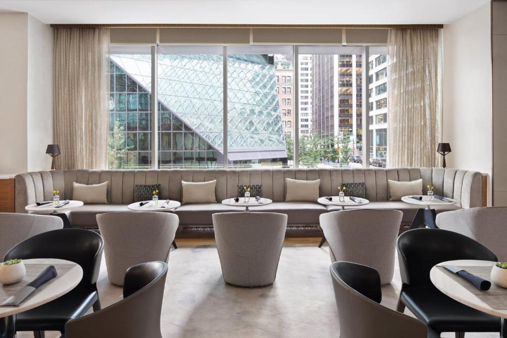 A restaurant or other place to eat at AC Hotel by Marriott New York Downtown
