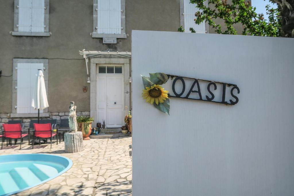 A view of the pool at l'oasis or nearby