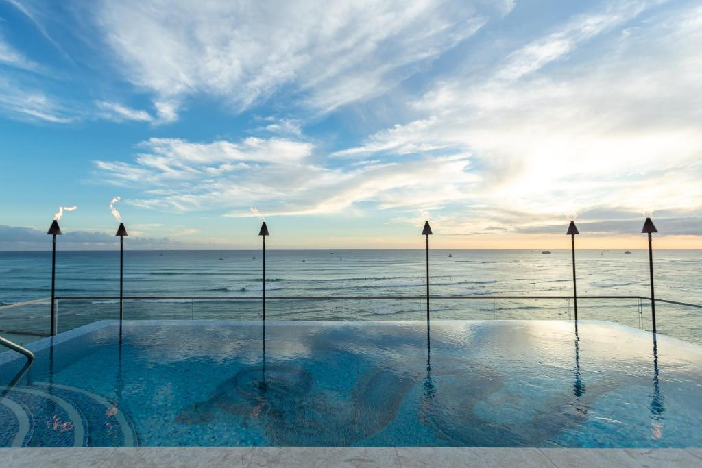 The swimming pool at or near ESPACIO THE JEWEL OF WAIKIKI