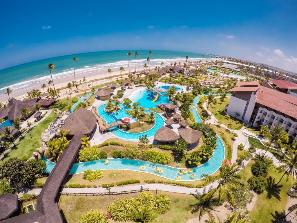 Uma vista aérea de Enotel Acqua Club - All Inclusive