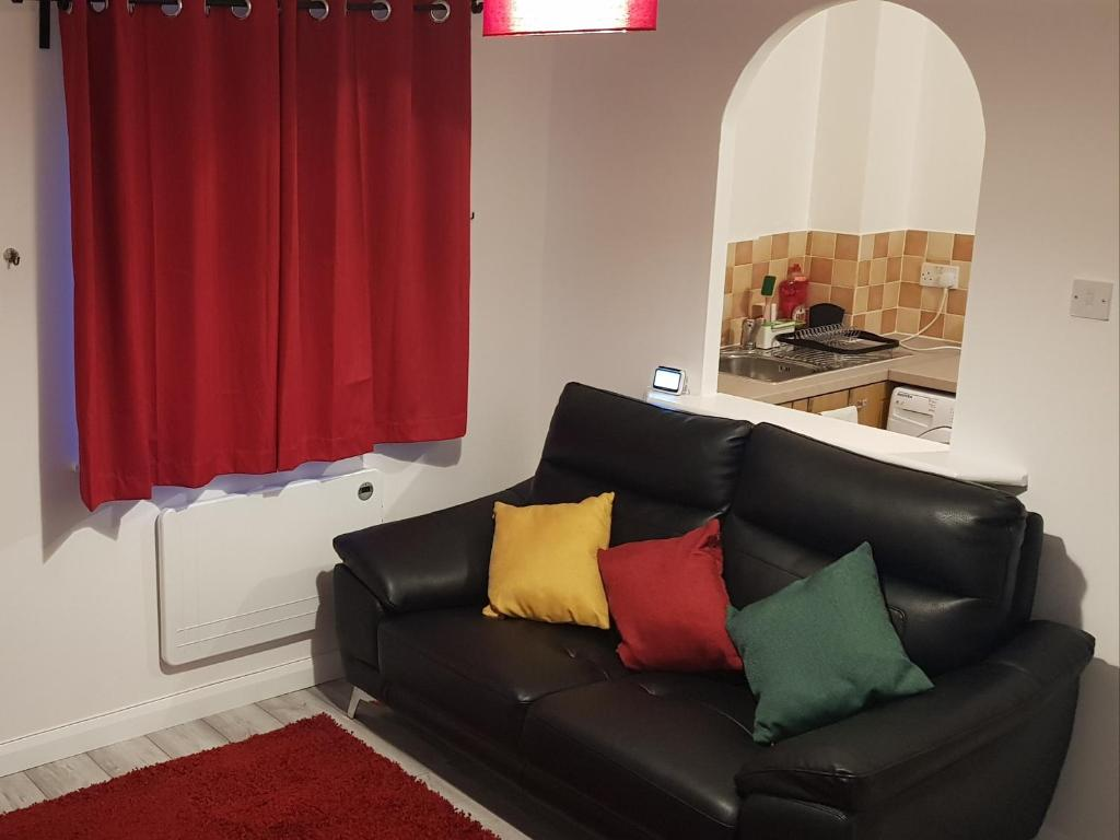 A seating area at Sterling House, Tilbury with Netflix Entertainment