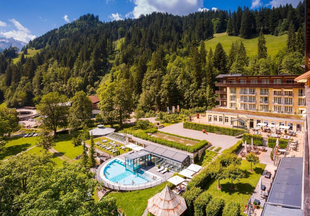 A bird's-eye view of Lenkerhof Gourmet Spa Resort