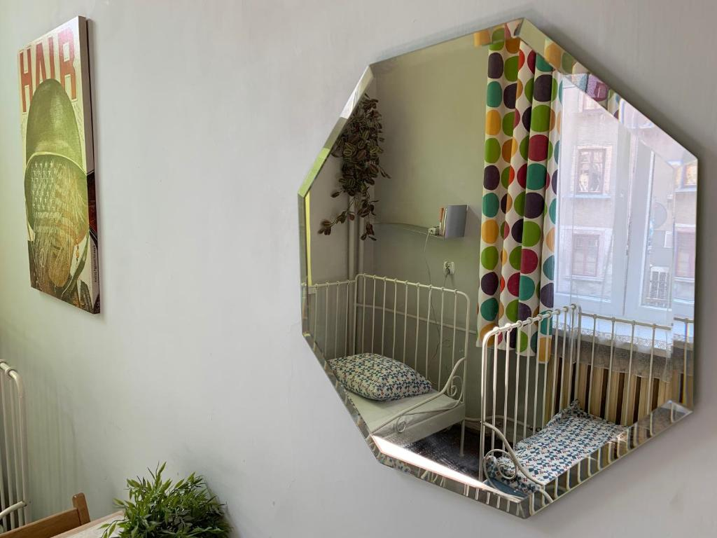 A bathroom at Hostel Aleje 28