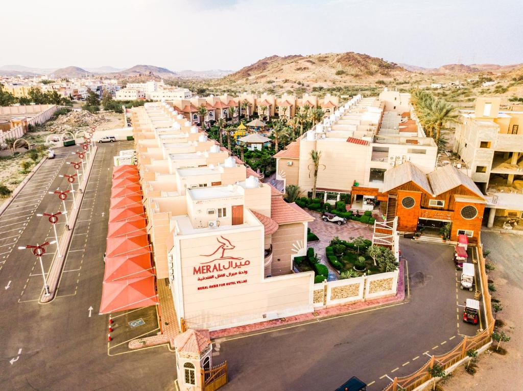 Uma vista aérea de Meral Oasis Resort Taif