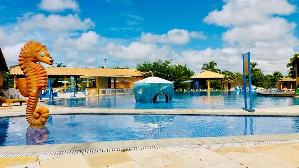 The swimming pool at or close to Pousada Chácara Lago Seco
