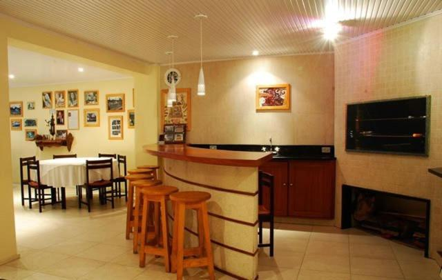 The lounge or bar area at Planalto Hotel