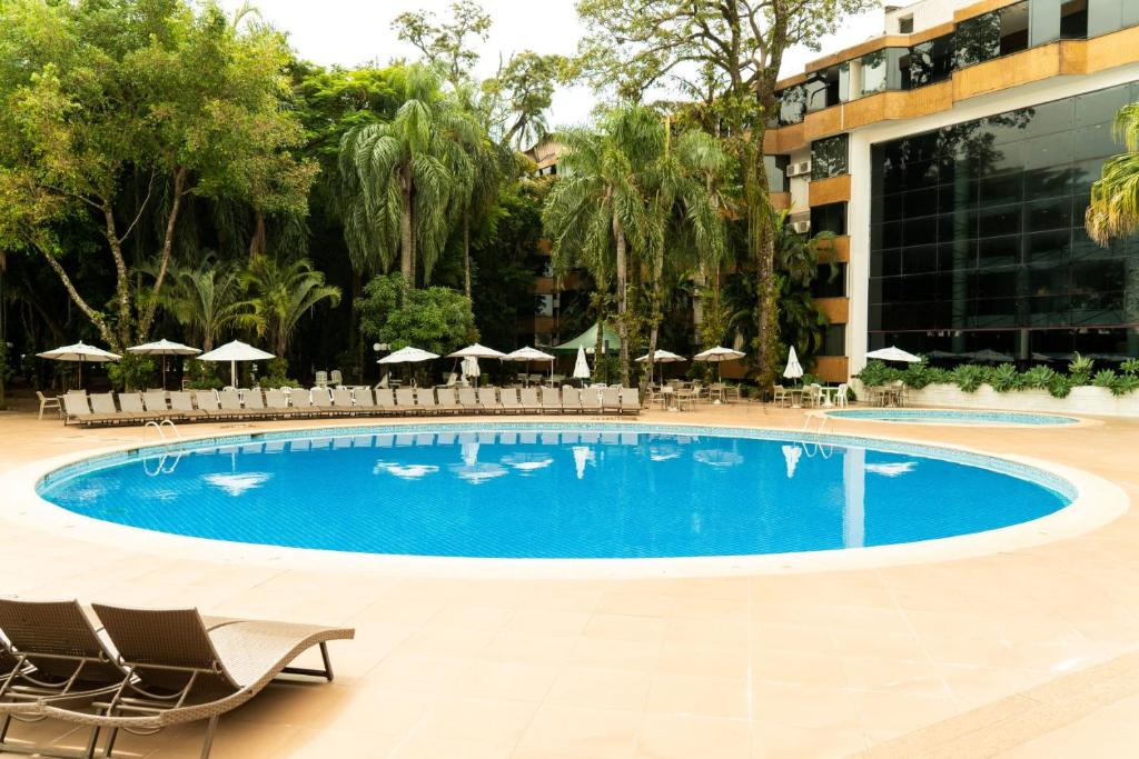 The swimming pool at or near Rafain Palace Hotel & Convention Center