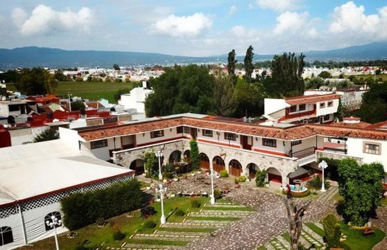 Villa Caltengo a vista de pájaro