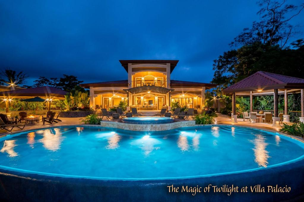 The swimming pool at or near The Springs Resort & Spa at Arenal