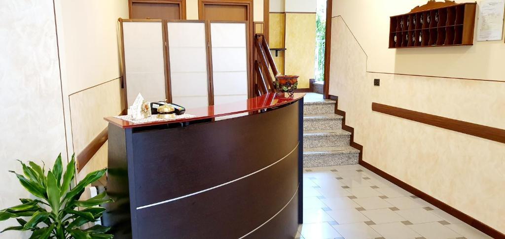 Hall o reception di Albergo Leon d'Oro