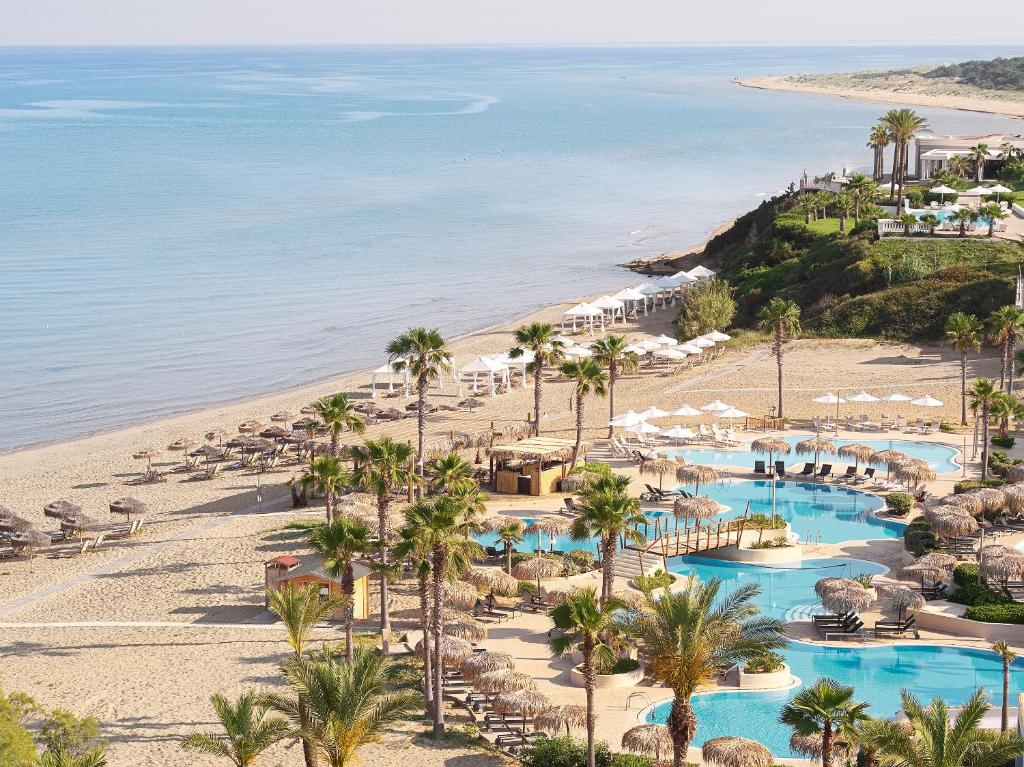 A view of the pool at Grecotel Olympia Oasis & Aqua Park or nearby