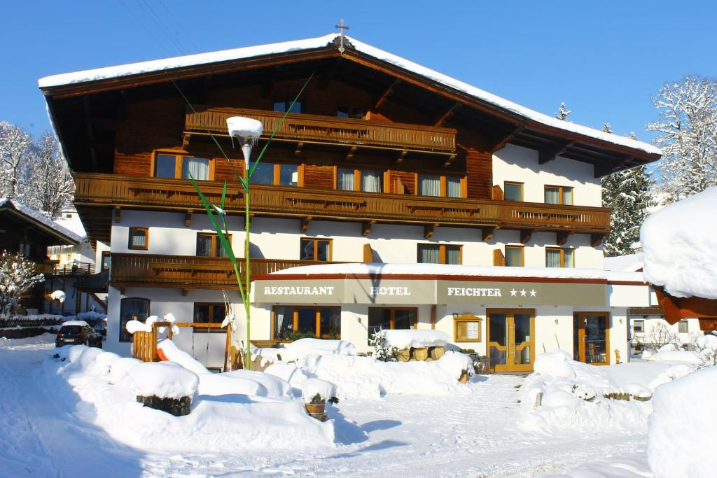 Hotel Feichter during the winter
