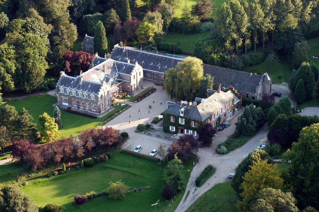 A bird's-eye view of Domaine de Joinville