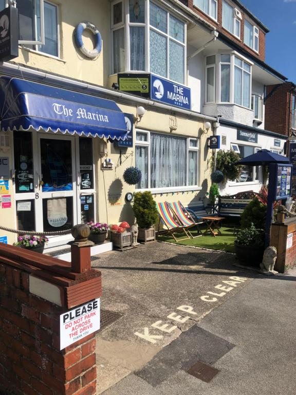 The Marina Guest House in Bridlington, East Riding of Yorkshire, England