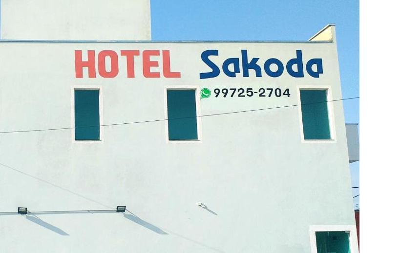 The floor plan of Hotel Sakoda