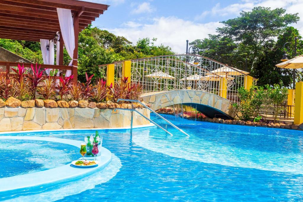 Water park at the guesthouse or nearby