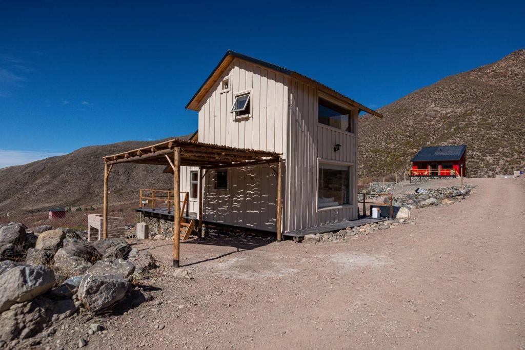 Complejo Odella Casas de Montaña durante o inverno