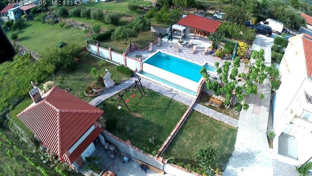 A bird's-eye view of Apartments Lidija