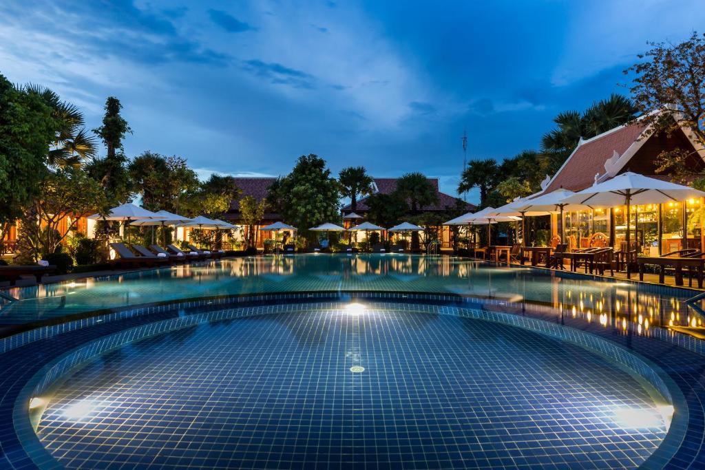 The swimming pool at or near Angkor Privilege Resort & Spa