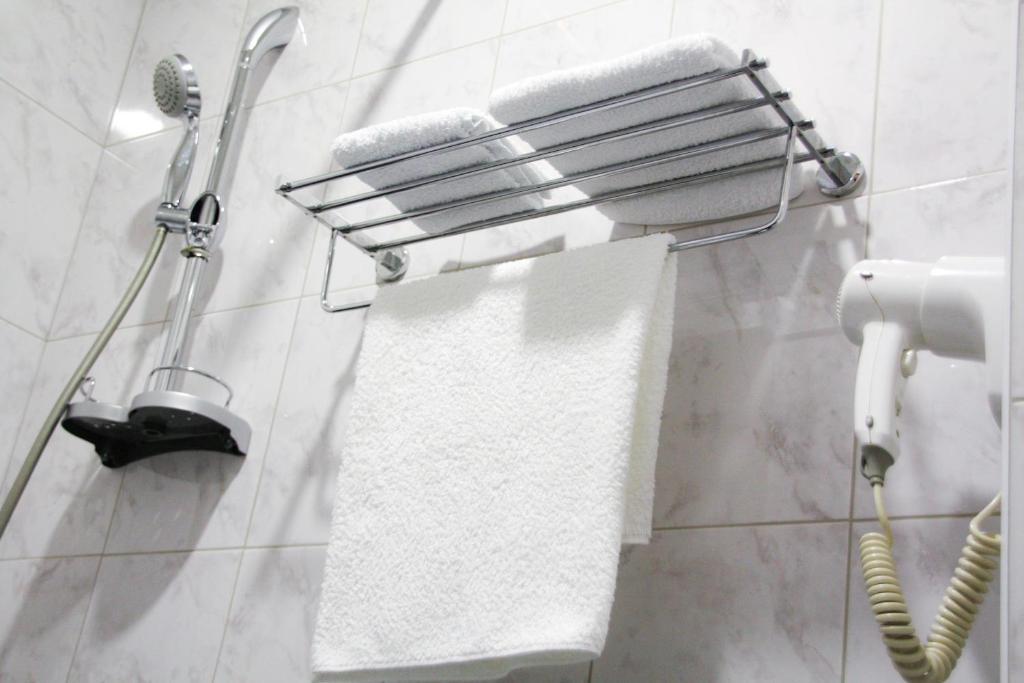 Ванная комната в Отель Элегант