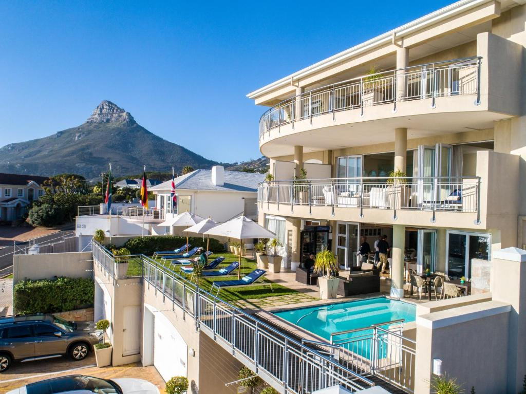 The swimming pool at or close to 3 On Camps Bay