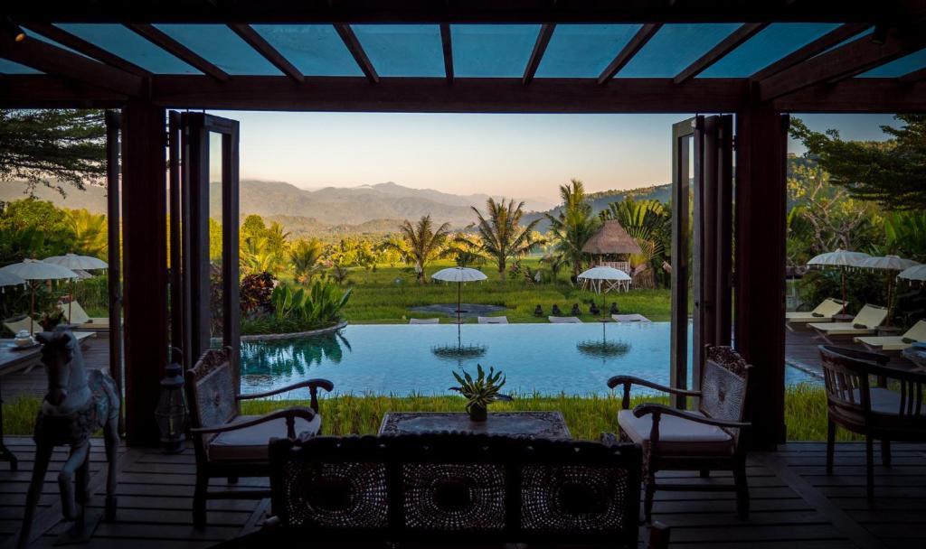 Piscine de l'établissement Sanak Retreat Bali ou située à proximité
