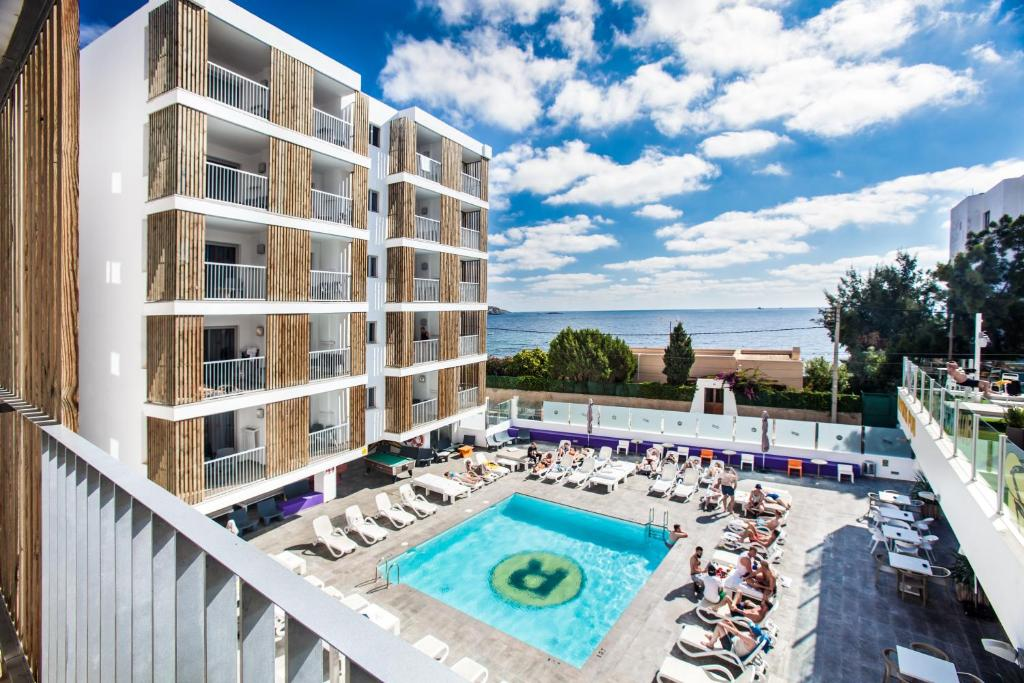 A view of the pool at Ryans Ibiza Apartments - Only Adults or nearby