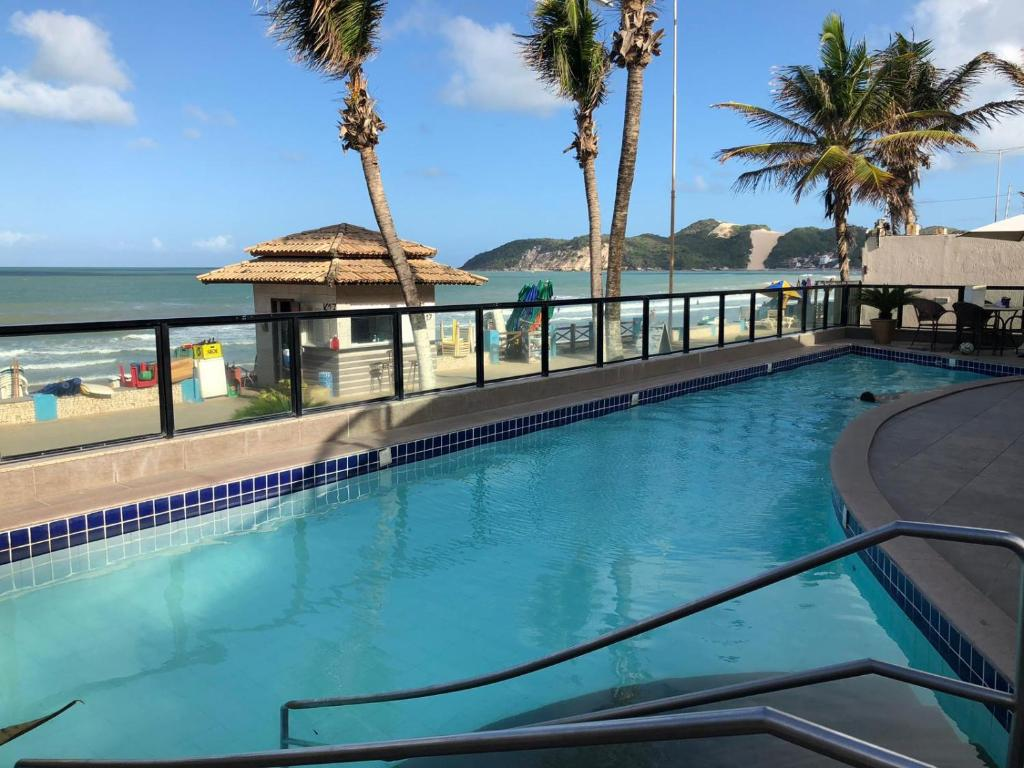 The swimming pool at or close to King's Flat Hotel Natal