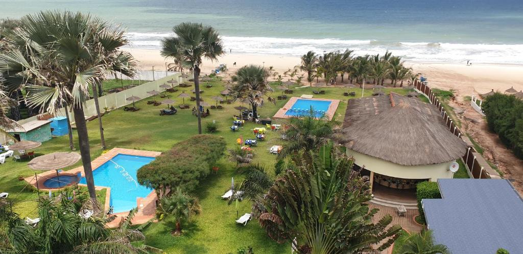 A view of the pool at Kasumai Beach Resort or nearby