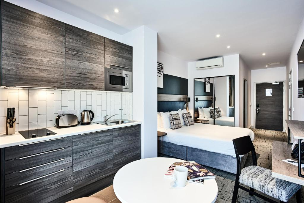A kitchen or kitchenette at Quest Liverpool City Centre