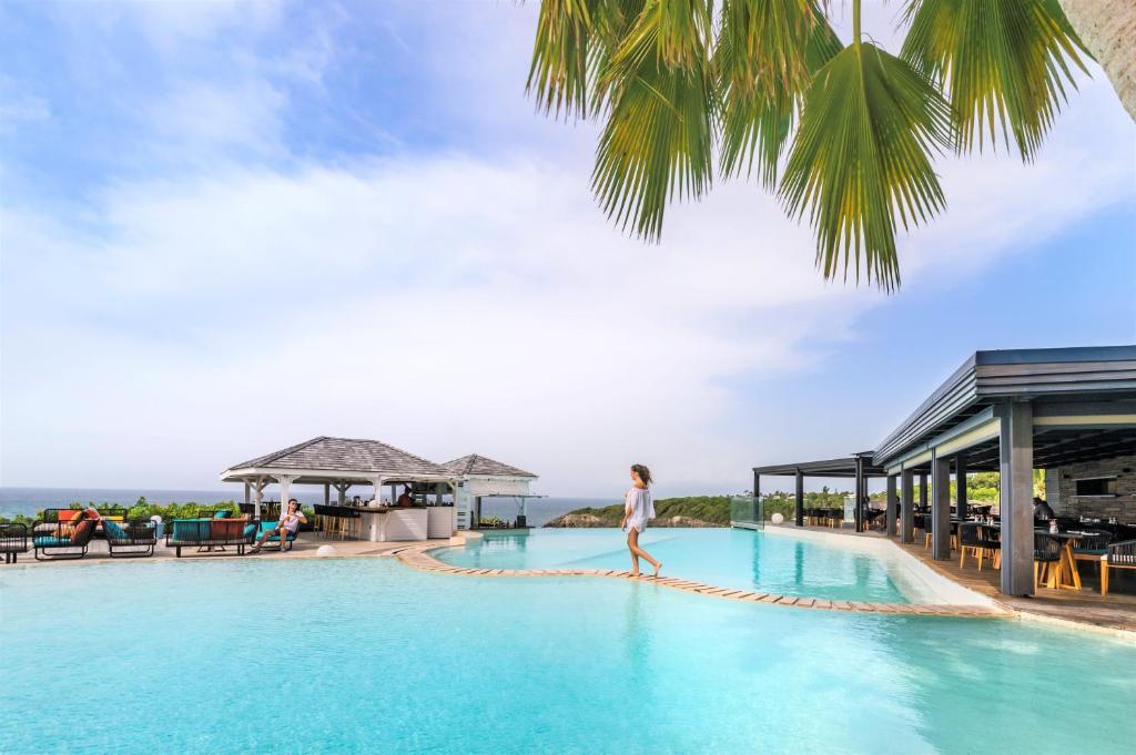 Piscine de l'établissement La Toubana Hotel & Spa ou située à proximité