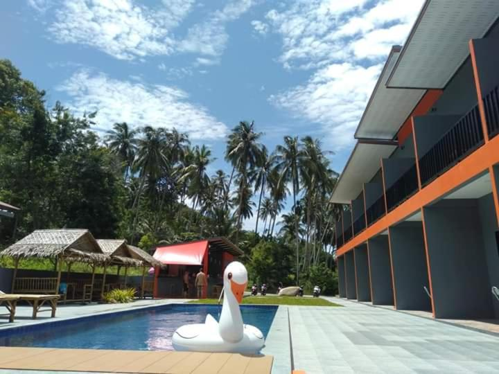 The swimming pool at or near Samui Hills