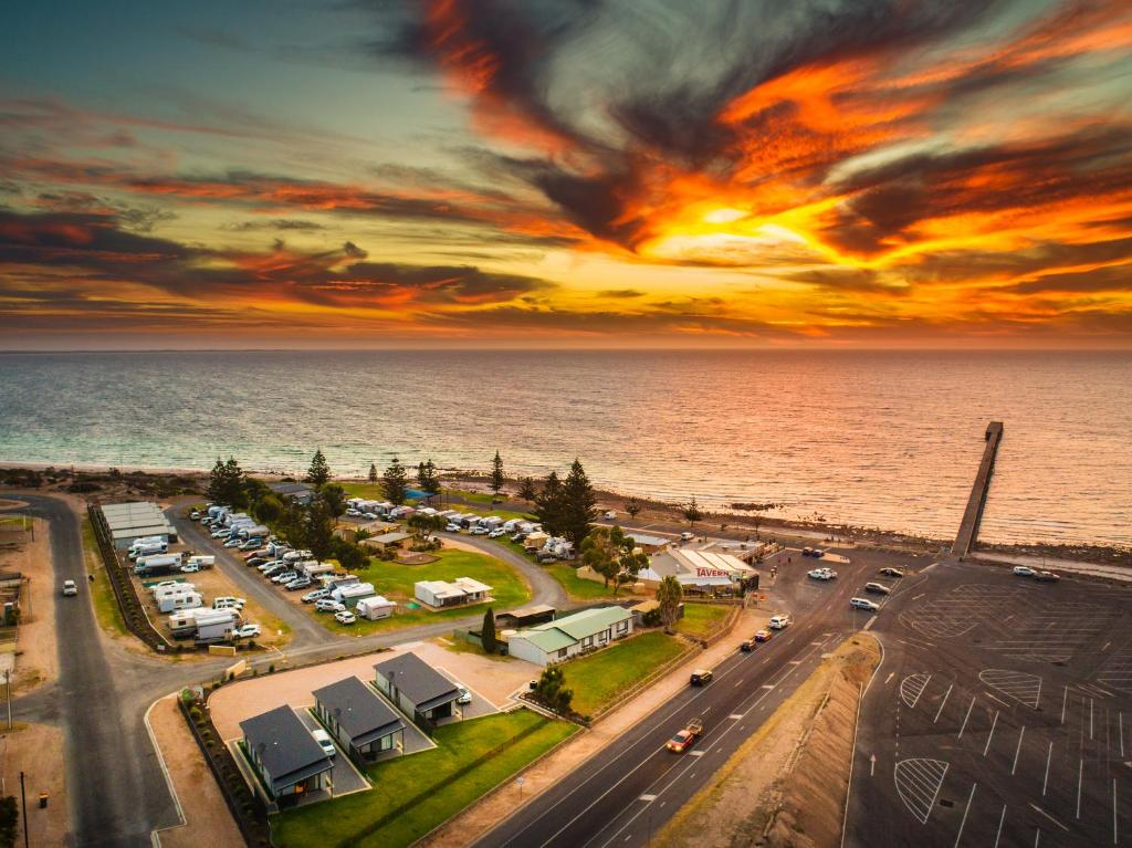 A bird's-eye view of BIG4 Breeze Holiday Parks - Port Hughes