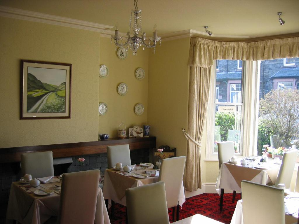 A restaurant or other place to eat at Cragside