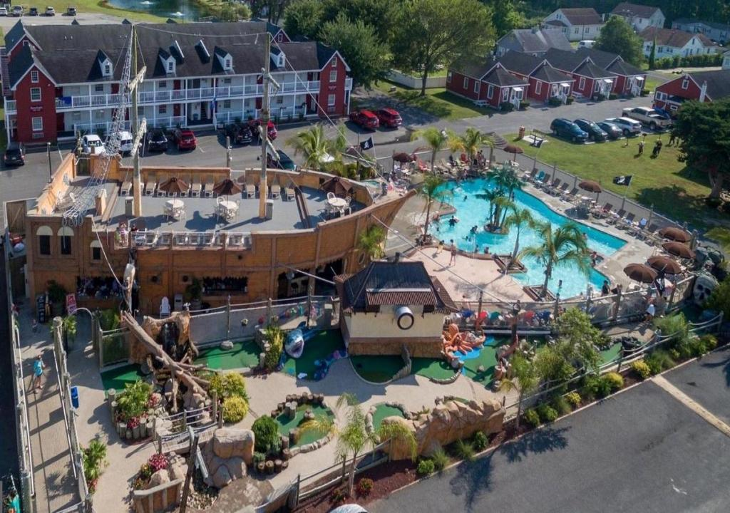 A bird's-eye view of Francis Scott Key Family Resort