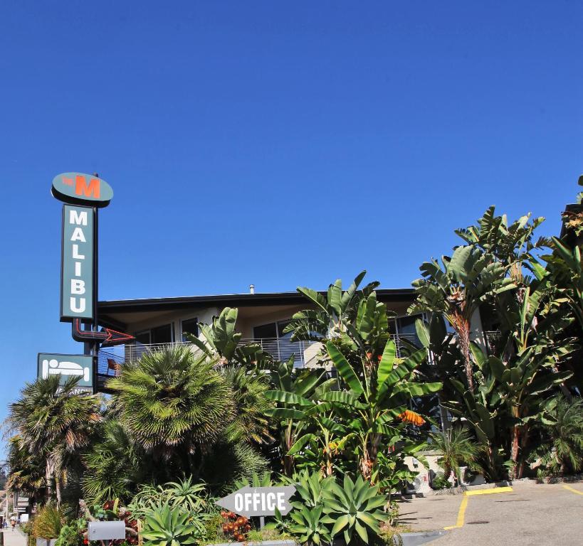 Edificio en el que se encuentra el motel
