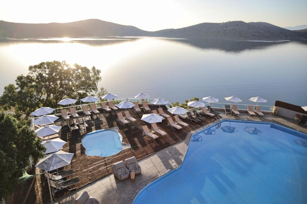 A view of the pool at Elounda Blu Hotel - Adults Only or nearby