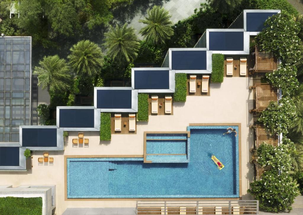 The floor plan of Four Seasons Hotel Mumbai