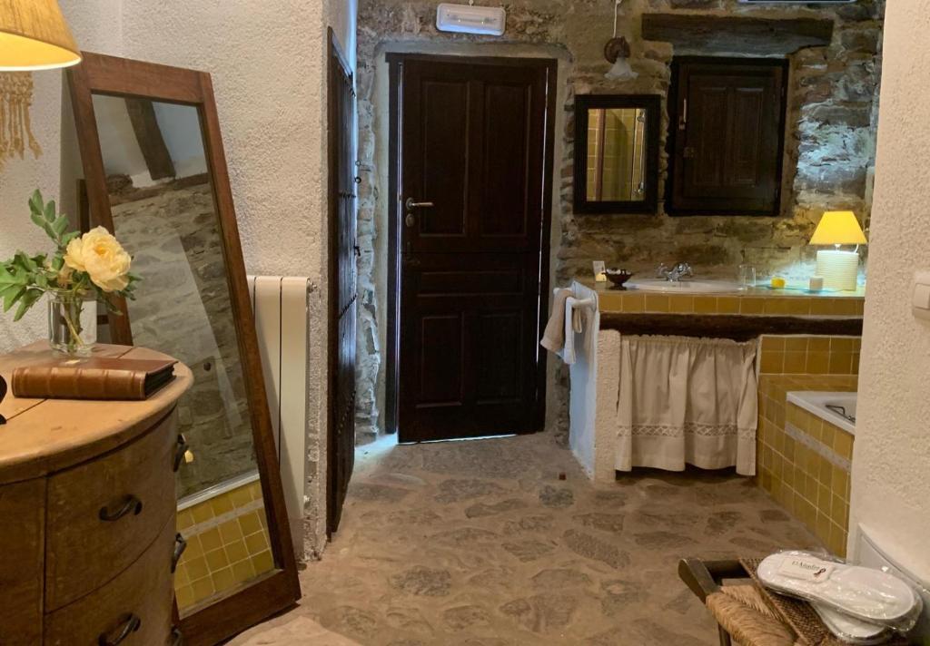 A bathroom at El Añadío
